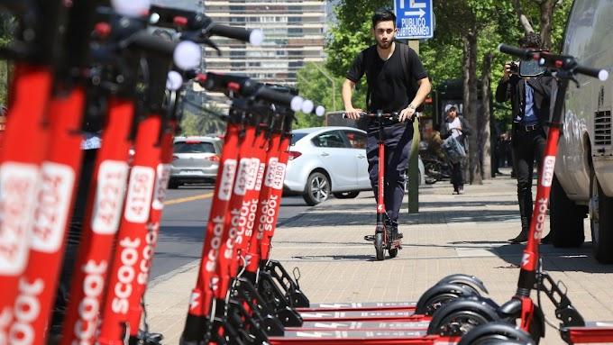 Estudio ACHS afirma que accidentes en scooters aumentaron en un 600%