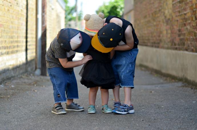 Nununu summer, black clothing for kids, punk rock princess, themummyadventure.com