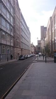 Edmund Street in 2017