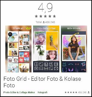 Foto Grid - Editor Foto & Kolase Foto terbaik
