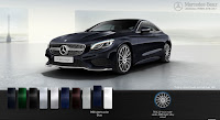 Mercedes S400 4MATIC Coupe 2017 màu Xanh Anthracite 998