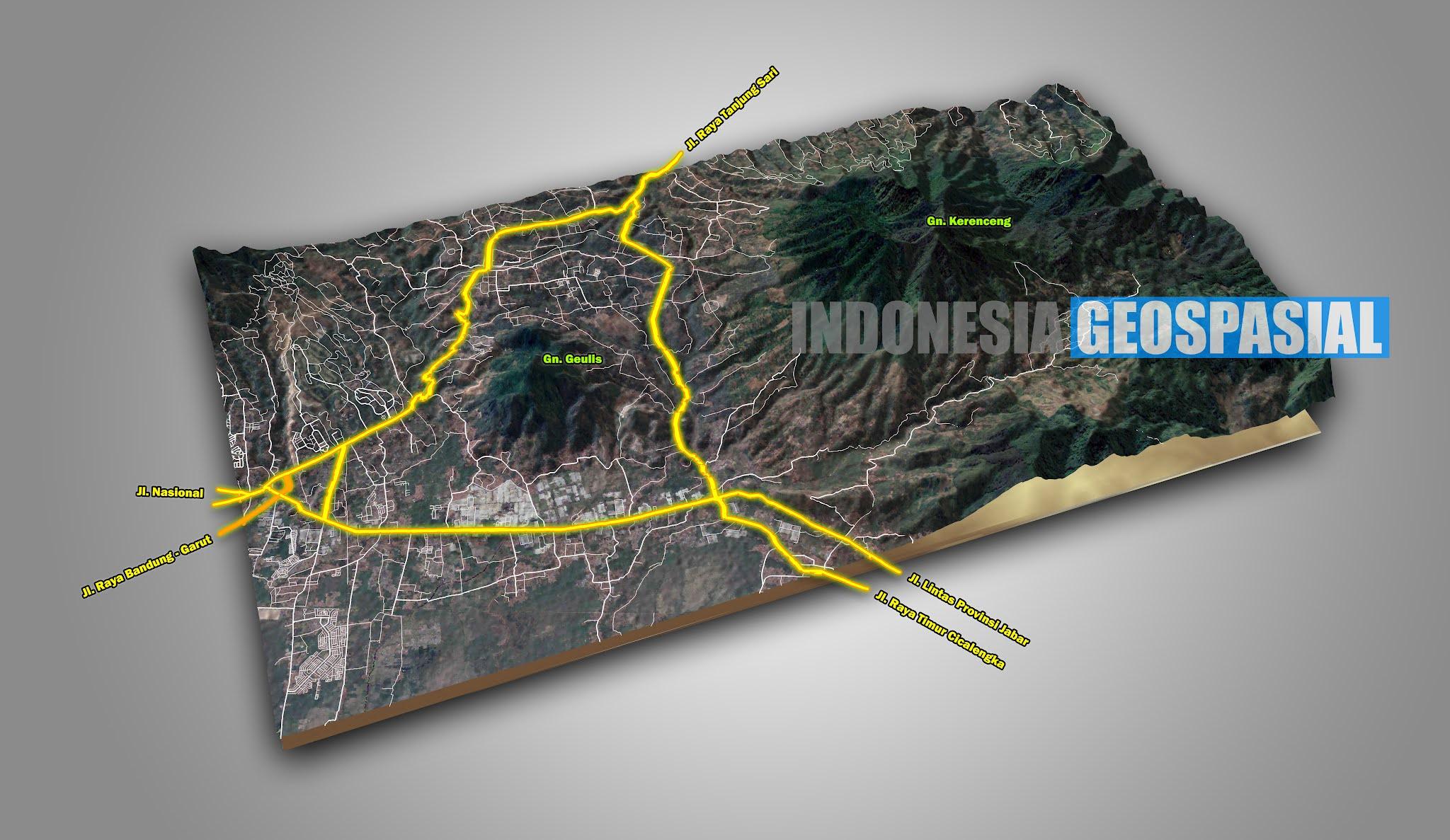 Download Kumpulan Shapefile (SHP) Terlengkap dan Terbaru Seluruh Indonesia