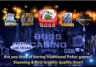 Boss Casino Poker Seru Banget dan Gak Bakal Bosen Mainnya