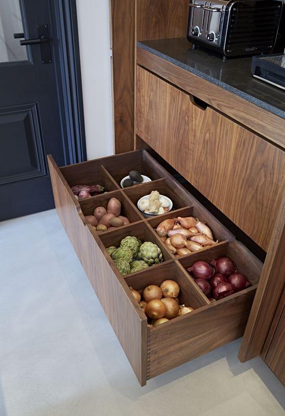Kitchen Ideas - Farmhouse Inspired Kitchen Storage Ideas