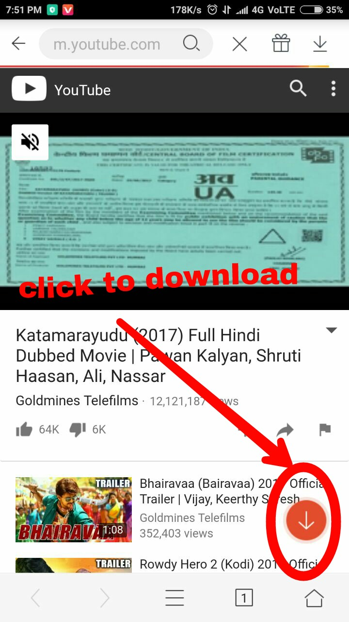 Online youtube video and audio downloader trick trickspagal easy method of download youtube video from vidmate app ccuart Image collections