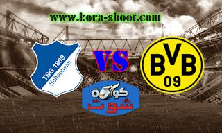 مشاهدة مباراة بوروسيا دورتموند وهوفنهايم بث مباشر 09-02-2019 الدوري الالماني