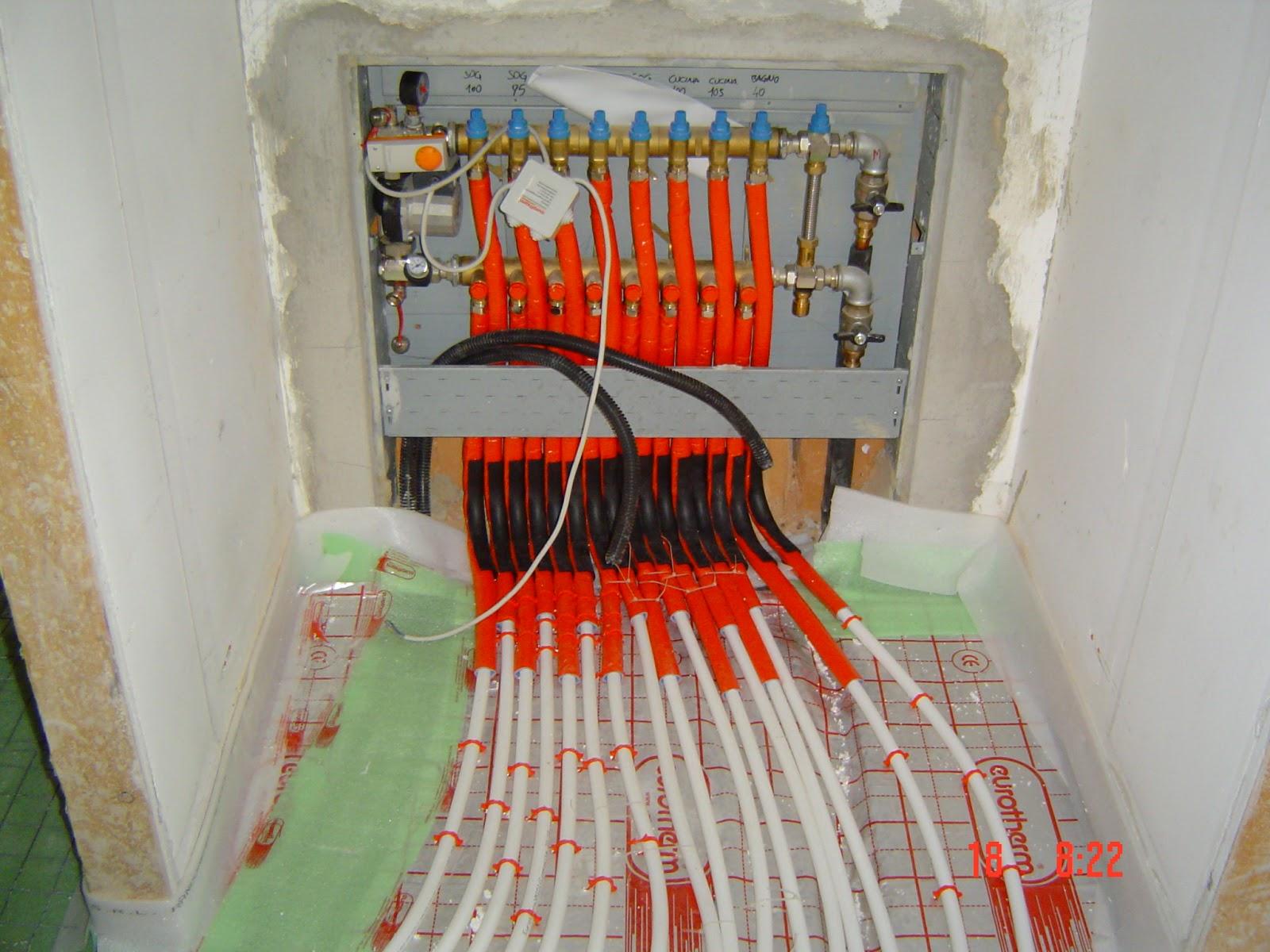 Ristrutturazione Riscaldamento A Pavimento i collettori degli impianti a pavimento - tecnoclima