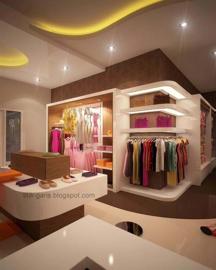 Desain Interior Butik Minimalis Modern
