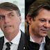 Real Time BigData/RecordTV: Bolsonaro perderia no segundo turno para Ciro e Haddad