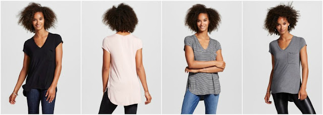 Mossimo Short Sleeve Pocket Tee $7 (reg $15)