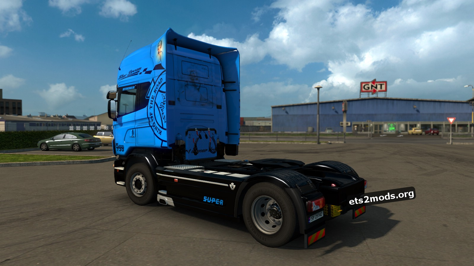 Scandinavia Transports Skin for Scania RJL