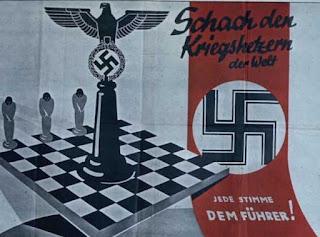 Nazismo y Ajedrez. Ajedrez y Guerra. Stefan Zweig
