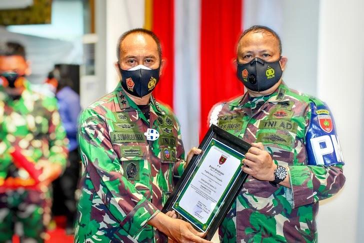 Pangdam Hasanuddin Pimpin Sertijab Pejabat Baru Di Jajaran Kodam Hasanuddin