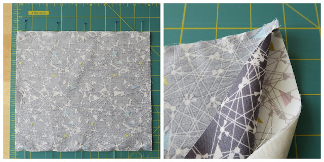 Luna Lovequilts - Fabric mask tutorial - Three layers of fabric