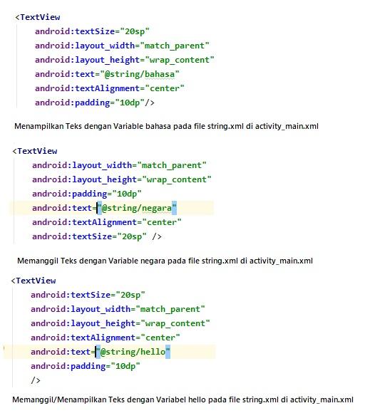 Aplikasi Multi Bahasa Sederhana