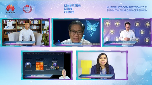 Speakers in Huawei ICT Competition Philippines 2021