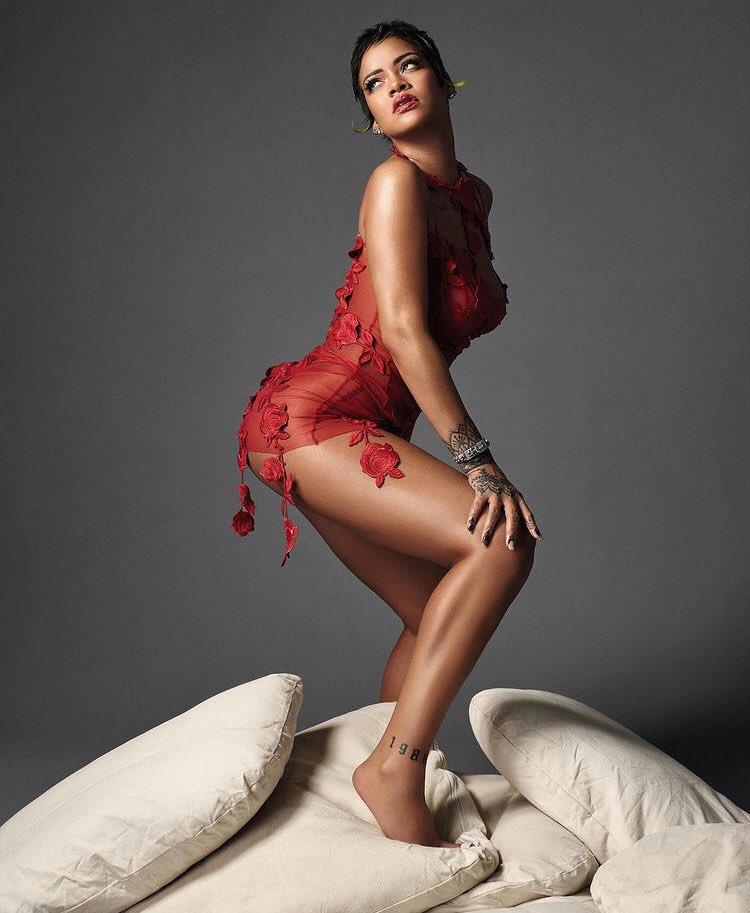Rihanna for Vogue Italia
