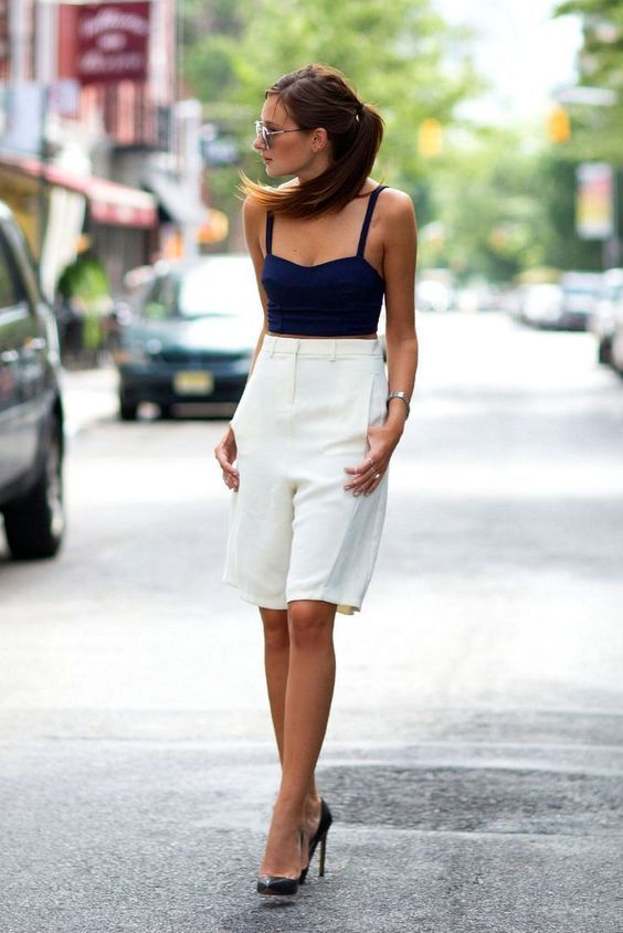Style File: Step into Summer with Bermuda shorts