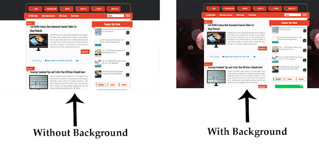 How to Add a Background Image in Blog/Website Homepage, Posts?