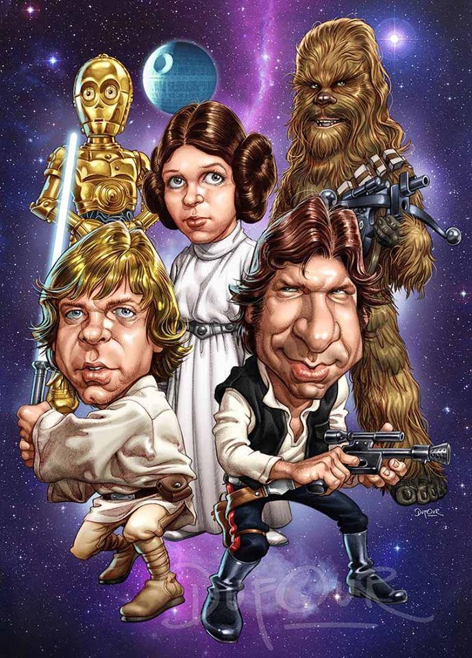 Star Wars por Santiago Dufour