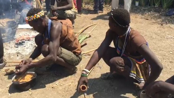 Mila na utamaduni Tanzania wanakozikwa watu wakiwa wameketi hadi Cameroon wanakopiga matiti pasi angalia tamaduni za kiajabu Afrika.