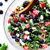 Triple berry salad Recipe