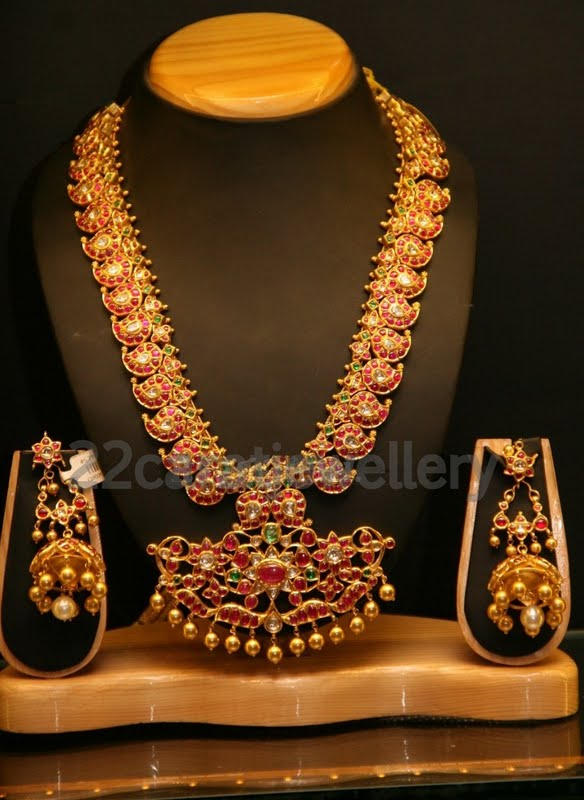 Temple Jewellery Choker And Long Chains At Hiya Jewellery
