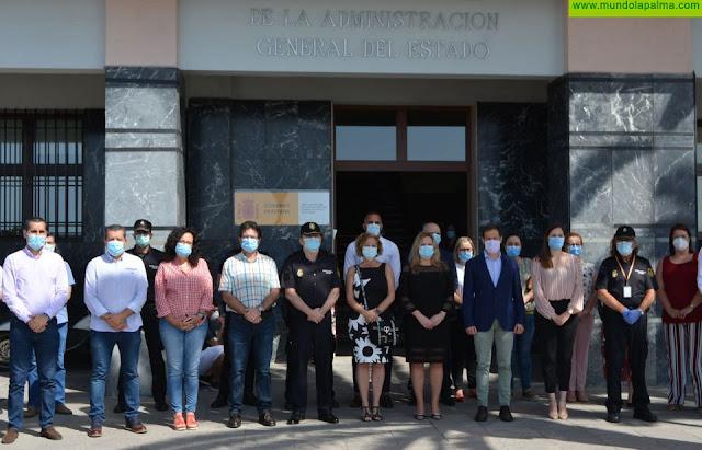 La Palma guarda un minuto de silencio por las víctimas del COVID-19