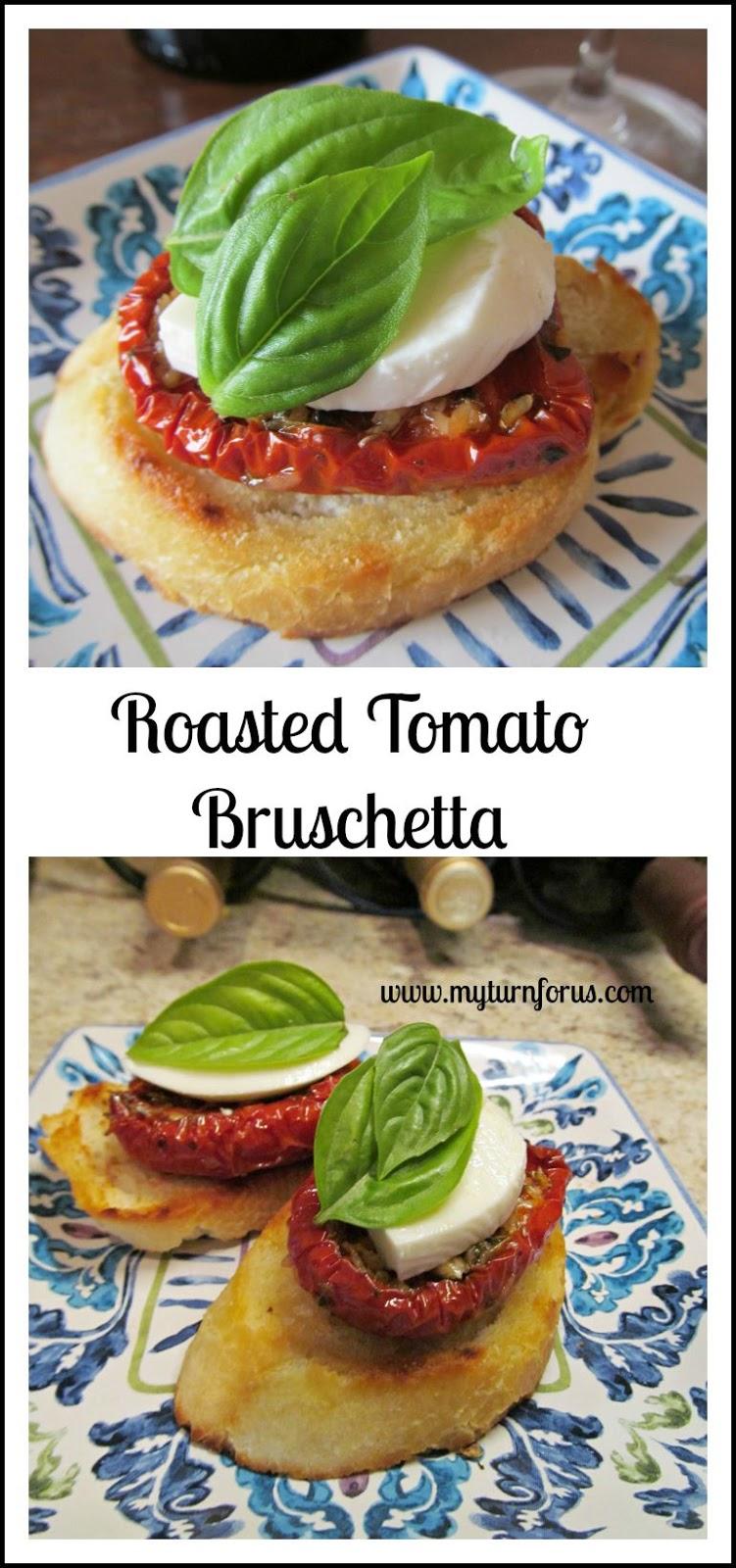 Roasted Tomato Brushetta