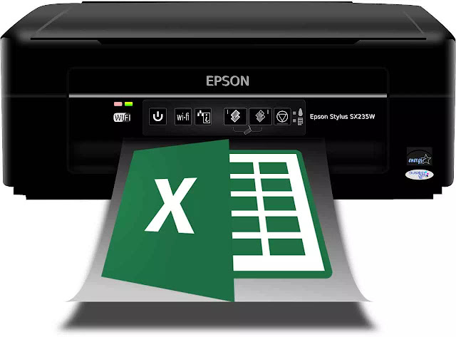 cara mengatasi current printer is unavailable select another printer excel 2007