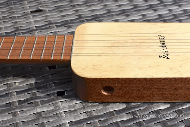 Ashbury Lonely Player Ukulele top