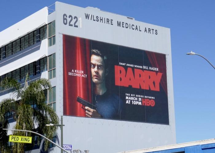 Giant Barry season 2 billboard