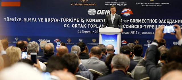 Μόσχα: «Θα συνεργαστούμε με την Τουρκία στην εκμετάλλευση κοιτασμάτων στην Α.Μεσόγειο»!