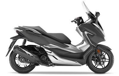 Honda Forza 300 2018 atau Forza 250 abu doff matte grey