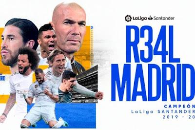 ترتيب الدوري الاسباني .. ريال مدريد البطل .. غرناطة للمرة الأول في الدوري الأوروبي وليجانيس الاخير