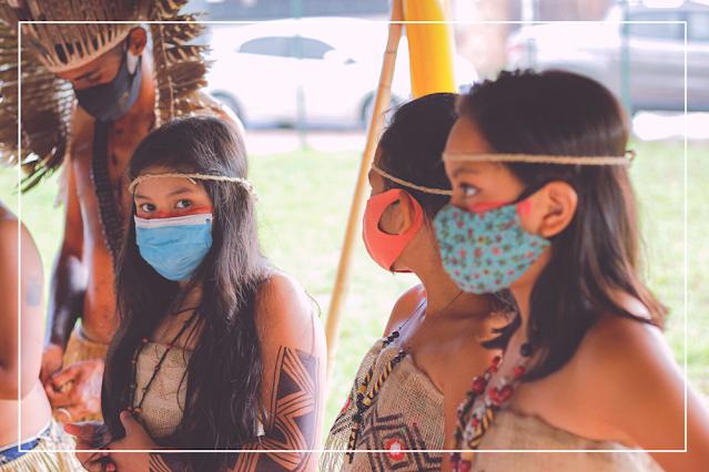 Documentário Vozes da Mata, expedição da Orquestra Maré do Amanhã ao Pantanal. Aldeia Urbana Marçal de Souza