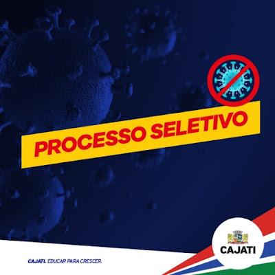 Processo Seletivo para contratação de Técnicos em Enfermagem em Cajati
