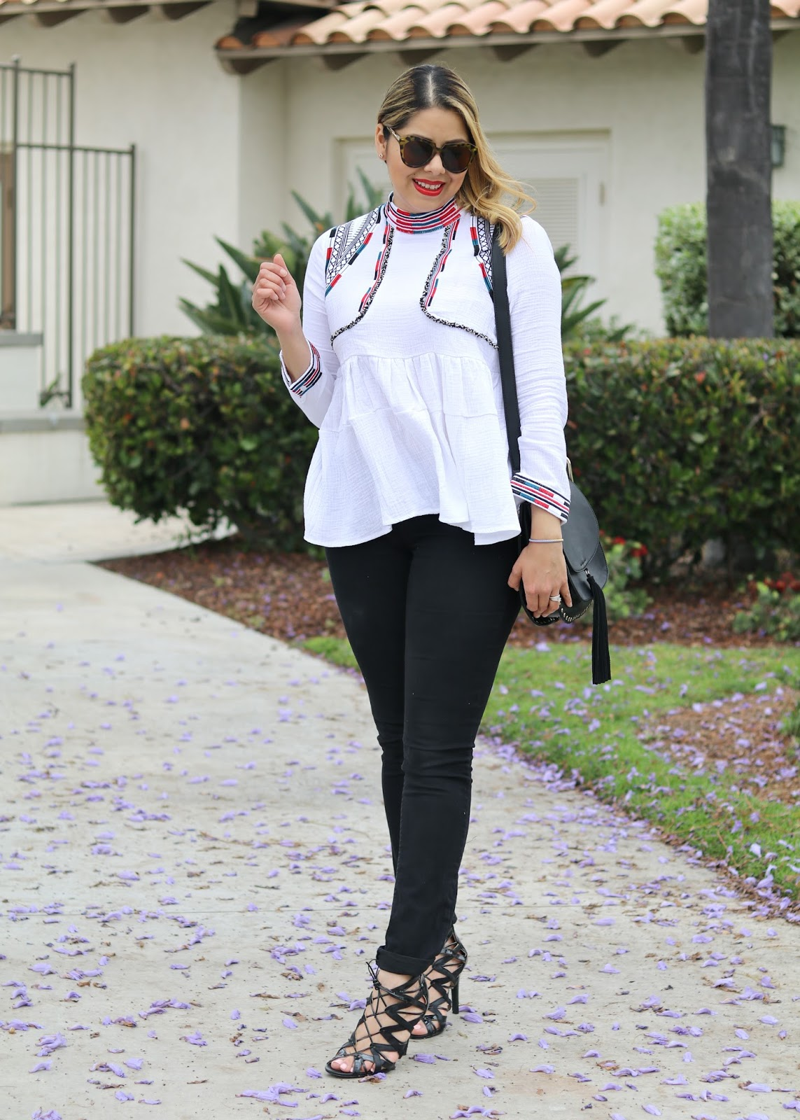 Mexican fashion blogger, black prabal gurung for target heels, how to wear lace up black heels