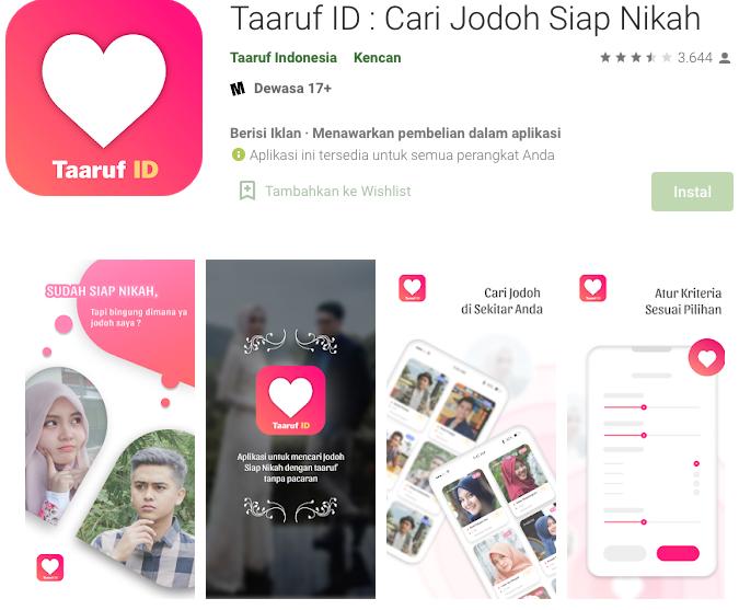 Taaruf ID : Cari Jodoh Siap Nikah