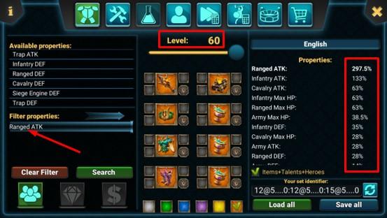 Gear Tersakit Pasukan Pemanah Untuk Menyerang  Gear Tersakit Pasukan Pemanah Untuk Menyerang (Full Attack) Pada Game Lords Mobile