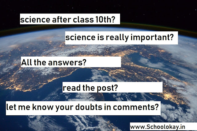 what after class 10th science