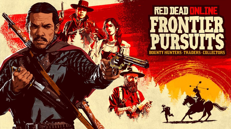 red dead online frontier pursuits update live ps4 xbox one rockstar games