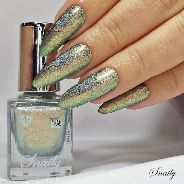 Snaily 8 - Złocisto - srebrny peacock