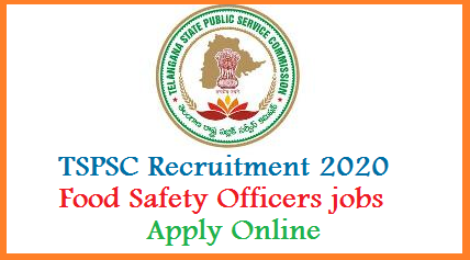 Telangana State Public Service Commission TSPSC has yet released a Recruitment Notification to fill up Food Safety Officers in GHMC and Institute of Preventive Medicine Public Laboratories & Food. Interested eligible aspirants with suitable educational qualifications mentioned in the detailed Notification by TSPSC. Check here for Important Dates for Submission of Online Application at official website www.tspsc.gov.in. Candidates may know here how to Apply online for Food Safety officer jobs in the Telangana State Government. After checking eligibility conditions submit online application form follow the process. Applications  are  invited  Online  from  qualified  candidates  through  the  proforma Application to be made available on Commission's WEBSITE (www.tspsc.gov.in) to the post of Food Safety Officer in The Director, Institute of Preventive Medicine Public (Health) Laboratories & Food ( Health) Administration and Greater Hyderabad Municipal Corporation in the State of Telangana tspsc-food-safety-officers-recruitment-eligibility-qualifications-importrant-dates-apply-online-tspsc.gov.in