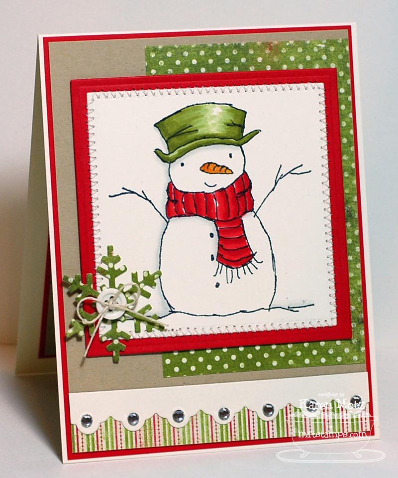 Открытка дочки, новогодняя открытка со снеговиком внутри