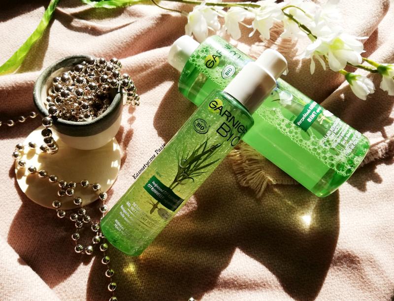 żel do mycia twarzy Garnier Bio cytrynowy