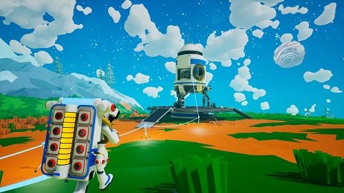Không gian vũ trụ trong game đẹp, nhưng cũng...chết chóc nếu bạn không sản xuất đủ nguồn oxi cần thiết