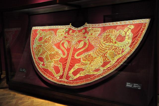 Krönungsmantel - płaszcz koronacyjny cesarstwa niemieckiego