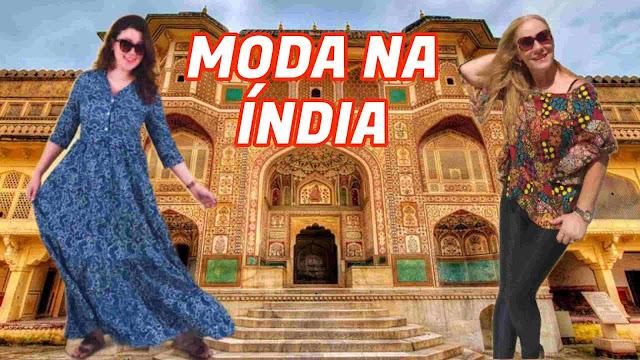 Moda na Índia