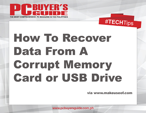 how to recover data from corrupted thumb drive